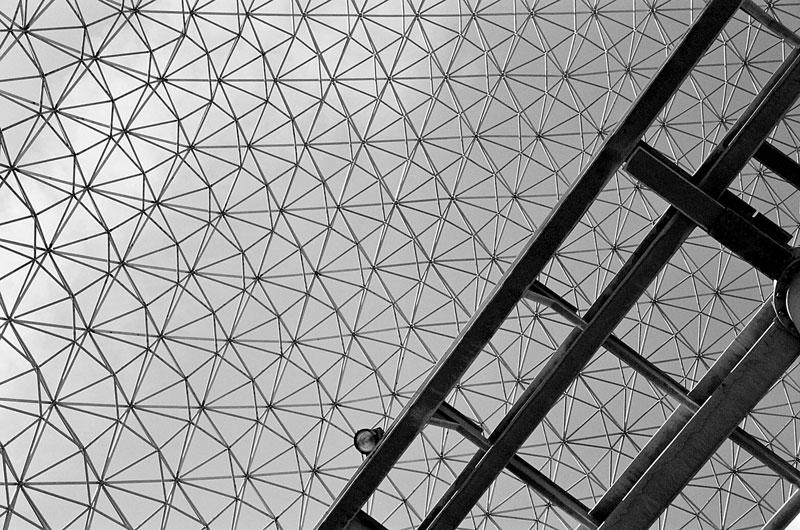 Buckminster Fuller Montreal Dome